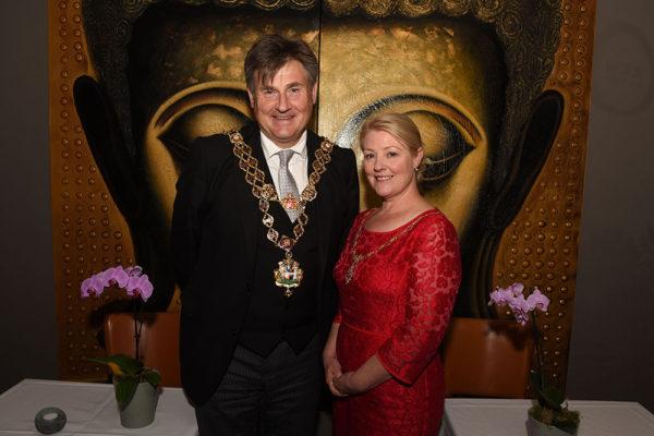 362_Mayor Carl Rice and Lady Mayoress