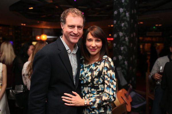 Andrew Fox & broadcaster Suzanne Virdee