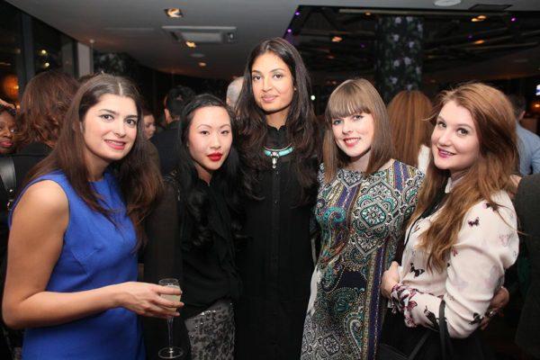 Bloggers Alev Dervish, Ting, Natasha Mughal, Claire Gorman & Rosina Ayling