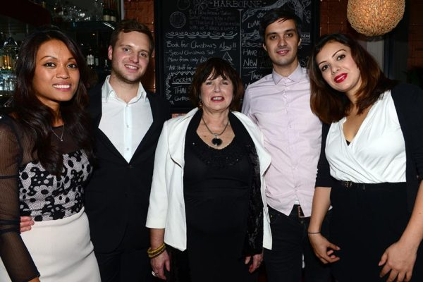 Chidwick family_Juree, Torquil, Mum, Ciaran Heatherington, Caitlin Heatherington
