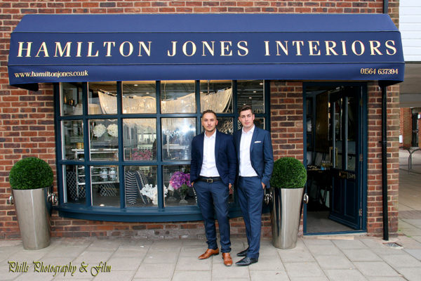 Sam Jones & Tim Shop Hamilton