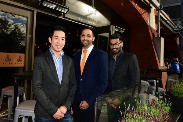 Yen-Ting Miu, Nishil Nathwani & Nitin Solanki ALUNA BAR